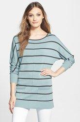 Caslon® Pocket Tunic Sweater (Regular & Petite)