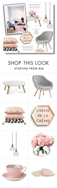 """Untitled #741"" by intellectual-blackness ❤ liked on Polyvore featuring interior, interiors, interior design, home, home decor, interior decorating, HAY, Rosanna, LSA International and Royal Albert"