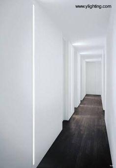 iluminación pasillos largos oficinas - Buscar con Google