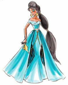 disney princesas imagens disney Designer Princesses: Jasmine wallpaper and background fotografias