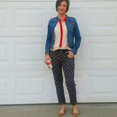 40+Style Inspiration: blues and blue jeans! | 40plusstyle.com