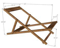 6a0120a5d8a08f970c019101e7248d970c-pi (711×569) Frame for folding camp chair.