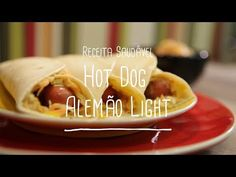 Hot dog light   Receitas Saudáveis - Lucilia Diniz - YouTube