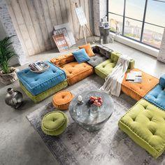 Kindersofa BIG CUSHION, Sofa Element I / Sessel, 80x80cm