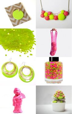 Neon Things for $10 or Less --Pinned with TreasuryPin.com