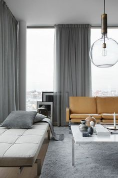 Living room remodel ideas The best way to update a classic room is usually to devote a brand new skylight. Skylights unlock rooms and let in the considerable amount of light. Skylight manufacturers today are coming up with some nice skylights. Home Curtains, Curtains With Blinds, Elegant Home Decor, Contemporary Home Decor, Living Room Styles, Home Decor Quotes, Indian Home Decor, Luxury Homes Interior, Living Room Remodel