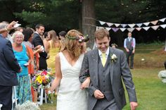 Bonnie and the Mermaids Wedding: We used rainbow sprinkles to throw at the recessional.