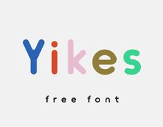 Free Typeface great for logos, headlines and posters. Inspired by friendly round shapes.If there are any bugs or you see anything that could be improved feel free to let me know ; ) yomagick@gmail.comIf you would like to share this typeface please lin…