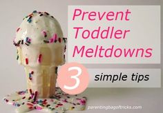 What you can do to keep 3 year old tantrums from taking place.