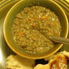 Lebanese Lemon Lentil Soup Allrecipes.com