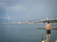 Rijeka, Croatia....... I got lucky with the timing