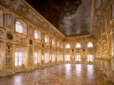 Inside the Palace - The Peterhof Grand Palace (Saint Petersburg, Russia)
