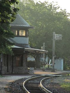 Kirkwood Depot in the morning light - St. Louis