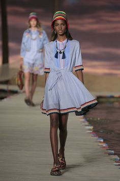 Gigi and Bella Hadid Are Caribbean Babes for Tommy Hilfiger via @WhoWhatWear
