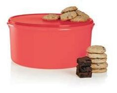 HO-HO-HUGE!!! The #Tupperware Giant Canister: A must-have for cookie season. Great for cookie exchange parties or keeping cookies oven-fresh for visiting guests. 42 cup/10 L. Get it now for $30! Save $14 (regular $44) ONLY UNTIL NOV 14 2014 !! Facebook.com/ConsultantMrsKate