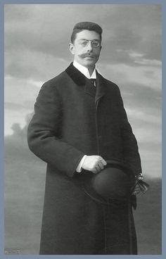 Friedrich Maximilian Alexander von Baden, Graf von Rhena. Bild um 1908. Wie der spaetere deutsche Kaiser Wilhelm II. und Max von Baden war auch Friedrich von Baden ein Neffe des Prinzen Ludwig Berthold von Baden. Ob sie einander auch gerne hatten steht auf anderes Blatt.