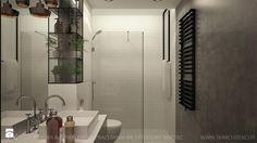 praskie klimaty - Średnia łazienka w bloku bez okna, styl industrialny - zdjęcie od TK Architekci