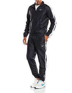c03bf3dc502d4 NIKE survêtement pour homme season woven taille xXL (noir blanc 679701-010  Nike