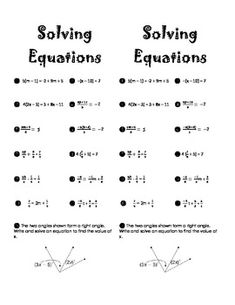 Printables Solving Multi Step Equations Worksheet Answers this worksheet includes 25 multi step equations students will i used these questions to supplement my lessons on solving equations