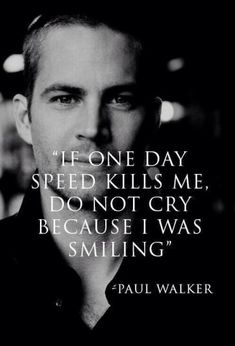 #PaulWalker on Speed