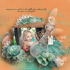 A Fairy tale Life by #WendyPDesigns #thestudio #digitalscrapbooking