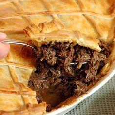 Venison Pie, Venison Recipes, Lamb Recipes, Meat Recipes, Cooking Recipes, Recipies, Beef, Savory Tart, South African Recipes