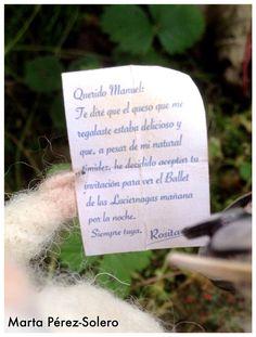La carta de Rosita.