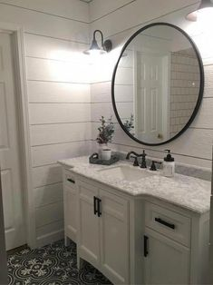 Check out this vital image and also visit the here and now knowledge on Fun Bathroom Ideas White Vanity Bathroom, Marble Vanity Tops, Wooden Bathroom, Marble Top, Bathroom Mirrors, Boho Bathroom, Bathroom Canvas, Bathroom Fixtures, Bathroom Hardware