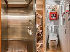 Esta casa diminuta llamada 'The Riverside' o 'La Orilla del Río', les mostrará que la simpleza funciona. Teniendo en cuenta que la casa está construida sobre una caravana, su simpleza les puede llevar a cualquier parte.