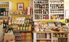 shop shelves -Lucy's Whey American Artisanal Cheese Shop