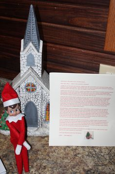 christian letter from santa the holidays pinterest santa and