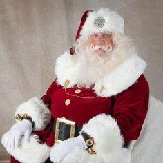 Original Santa Claus, Father Christmas, Christmas Decor, Christmas Ideas, Santa Outfit, Santa Costume, Santa Suits, Detachable Collar, Wool Suit