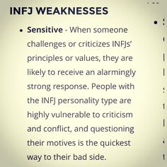 infj - introverts
