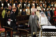 Royal Wedding: Prince Harry and Meghan Markle married. Prince Harry awaits his bride who was escorted to the alter by his father, Prince Charles Prince Charles, Prince Henry, Prince Andrew, Royal Wedding Prince Harry, Harry And Meghan Wedding, Prince Harry Et Meghan, Meghan Markle Prince Harry, Princess Meghan, Princess Beatrice