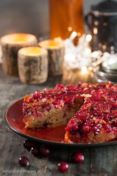 Cranberry Upside Down Cake from @Simone Berg