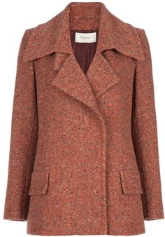 Pringle Of Scotland Vintage asymmetric fastening jacket