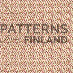 Kukonaskel by Kahandi Design   #patternsfromagency #patternsfromfinland #pattern #patterndesign #surfacedesign #kahandidesign