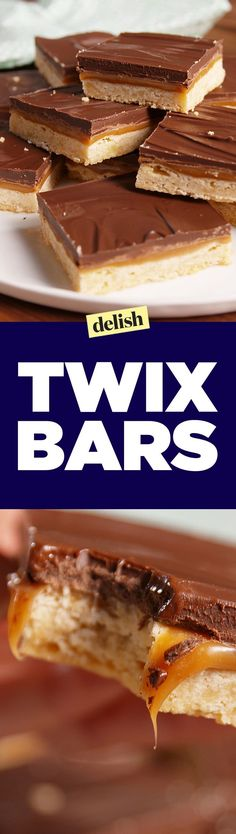 These Twix Bars taste even better than the real thing. Get the recipe on Delish.com.