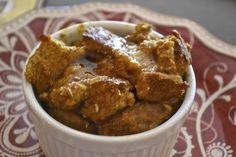 """Point-less"" Meals: Pumpkin Breakfast Bread Pudding"