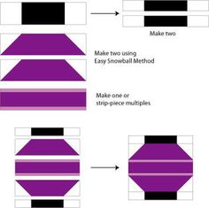 Follow These Simple Instructions to Sew Chinese Lanterns Quilt Blocks: Sew the Chinese Lanterns Quilt Block