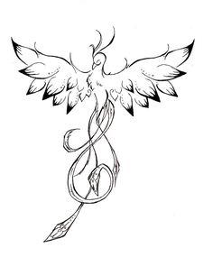 tatouage de phoenix pour femme - Recherche Google