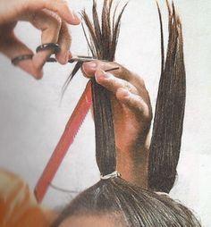 12 Cortes de cabello que puedes hacerte tú misma - DiyForYou Cut Own Hair, Trim Your Own Hair, How To Cut Your Own Hair, Hair Cuts, Hair Trim, Easy Hairstyles For Medium Hair, Medium Hair Styles, Cool Hairstyles, Short Hair Styles