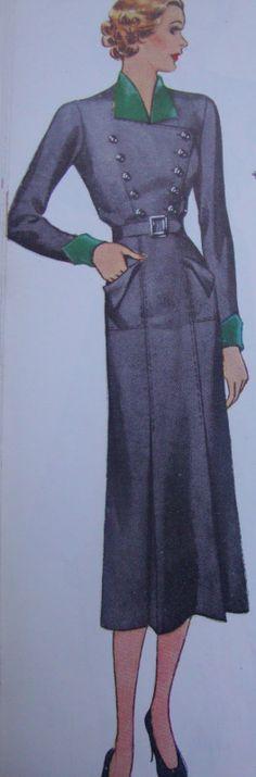 1930s McCall 9029 dress pattern