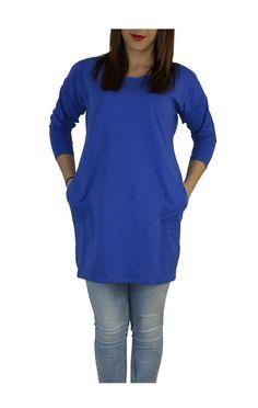 Sukienka Tunika Chabrowa Bawełna  . w Henia u Heni na DaWanda.com