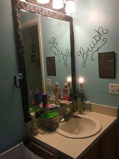 Working little by little on the kids/guest bathroom
