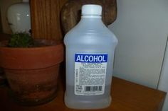 Rubbing Alcohol Uses. Photo by Ambervim