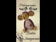 DIY Ardilla con cacahuete amigurumi en ganchillo - Crochet - YouTube
