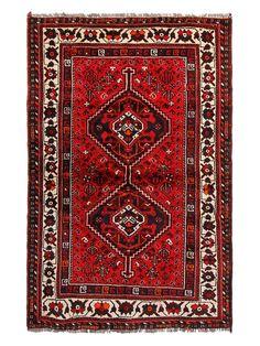 "FJ Kashanian Persia Hand-Knotted Rug (3'8""x 5'7"")"