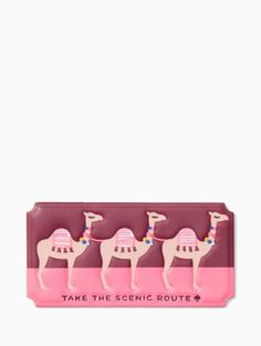 ashe place take the scenic route sticker | Kate Spade New York