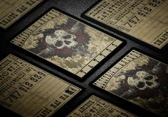 Electric Anchor Tattoo business card